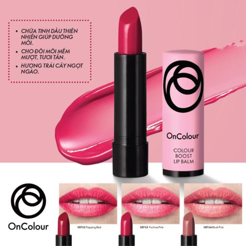 Oriflame – Son dưỡng môi của Oriflame OnColour Colour Boost Lip Balm